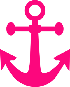 Nautical anchor clipart clipart free Free Pink Anchor Clip Art | Nautical Pirate Party | Anchor clip art ... clipart free