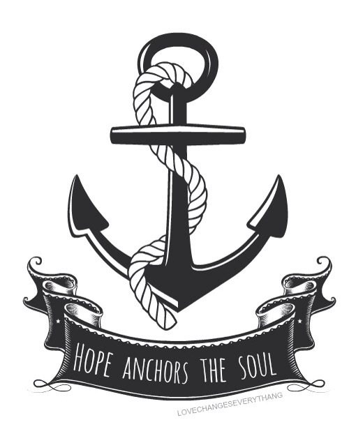Anchor bible verse clipart royalty free library Anchor Of Your Soul | Walking In The Spirit royalty free library