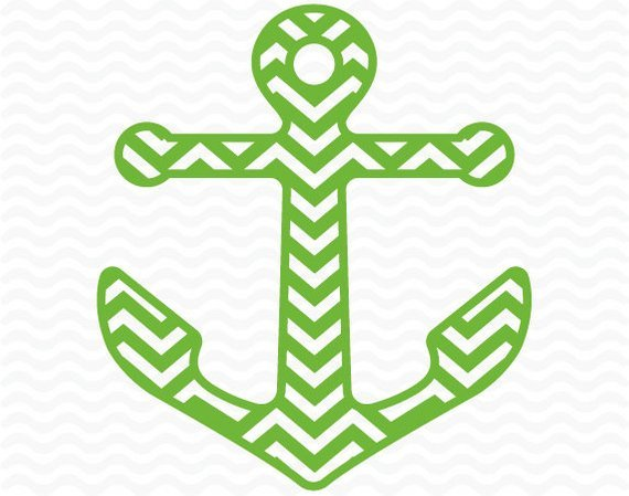 Anchor chevron clipart png black and white library Chevron anchor clipart 1 » Clipart Portal png black and white library