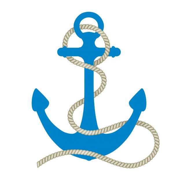 Anchor with long rope clipart png black and white library Anchor Clipart Free Stock Photo - Public Domain Pictures png black and white library