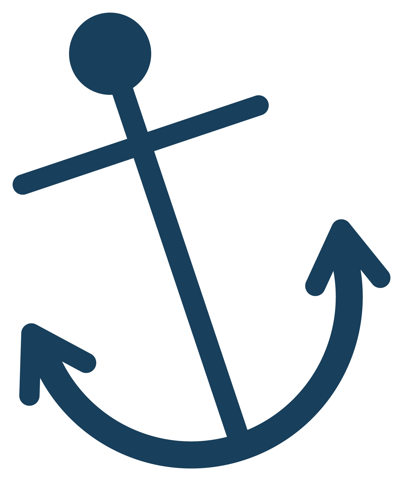 Anchor clipart pretty clipart black and white stock Cute anchor clip art free clipart images 2 – Gclipart.com clipart black and white stock
