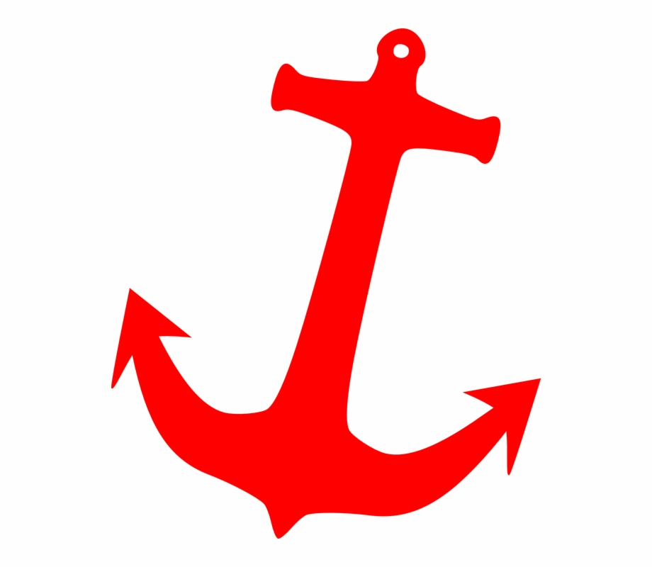 Anchor clipart red picture library download Anchor Sailor Tattoo Red - Red Anchor Clip Art, Transparent Png ... picture library download