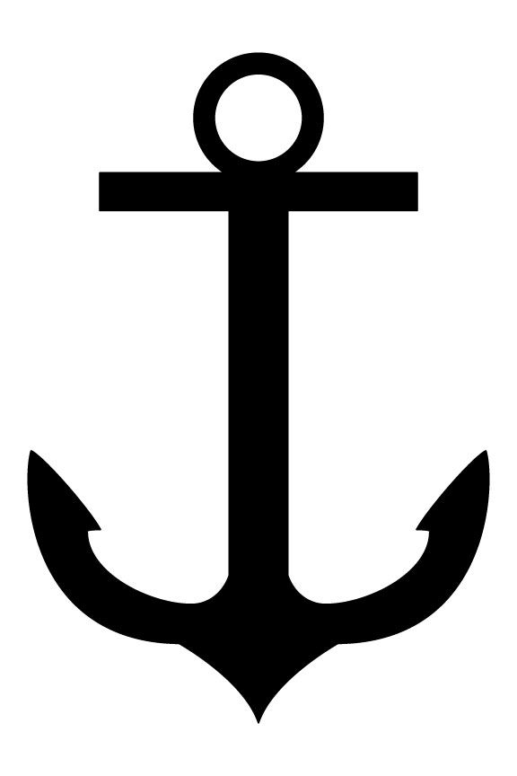 Anchor silhouette clipart stock Huge Collection of \'Anchor silhouette\'. Download more than 40 images ... stock