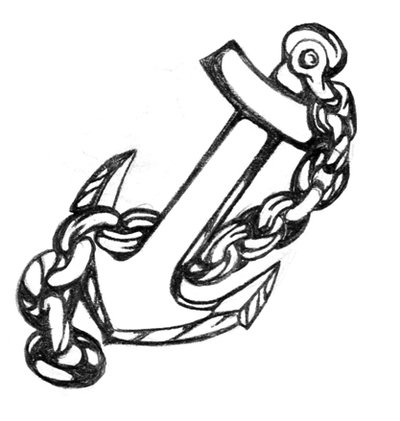 Anchor with chain clipart svg library Free Anchor And Chain Tattoo, Download Free Clip Art, Free Clip Art ... svg library