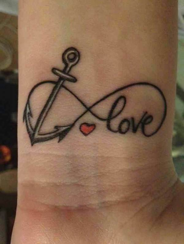Anchor with heart clipart meaning jpg library download 125 Best Anchor Tattoos of 2019 (with Meanings) - Wild Tattoo Art jpg library download