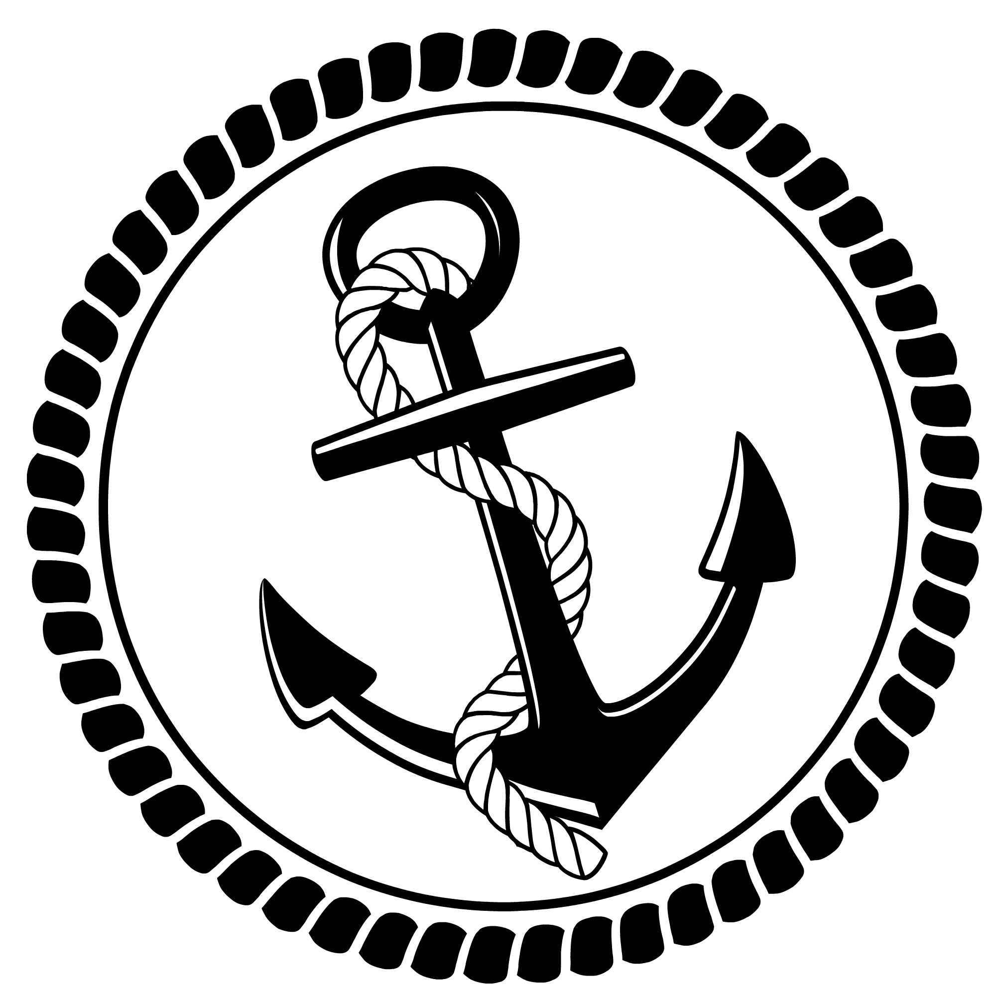 Anchor with long rope clipart clip art download Nautical anchor with rope clipart – Gclipart.com clip art download