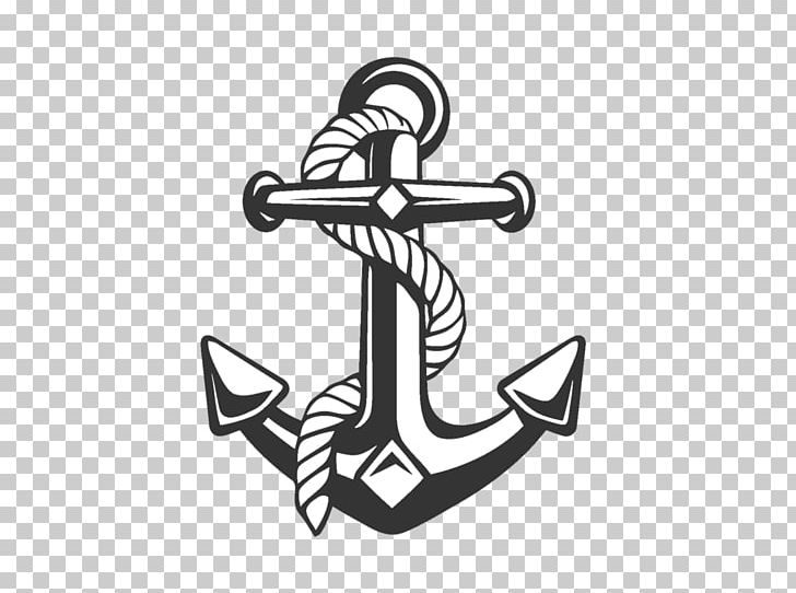 Anchor with long rope clipart black and white download Anchor Rope Ship PNG, Clipart, Anchor, Angle, Art, Banner, Black And ... black and white download