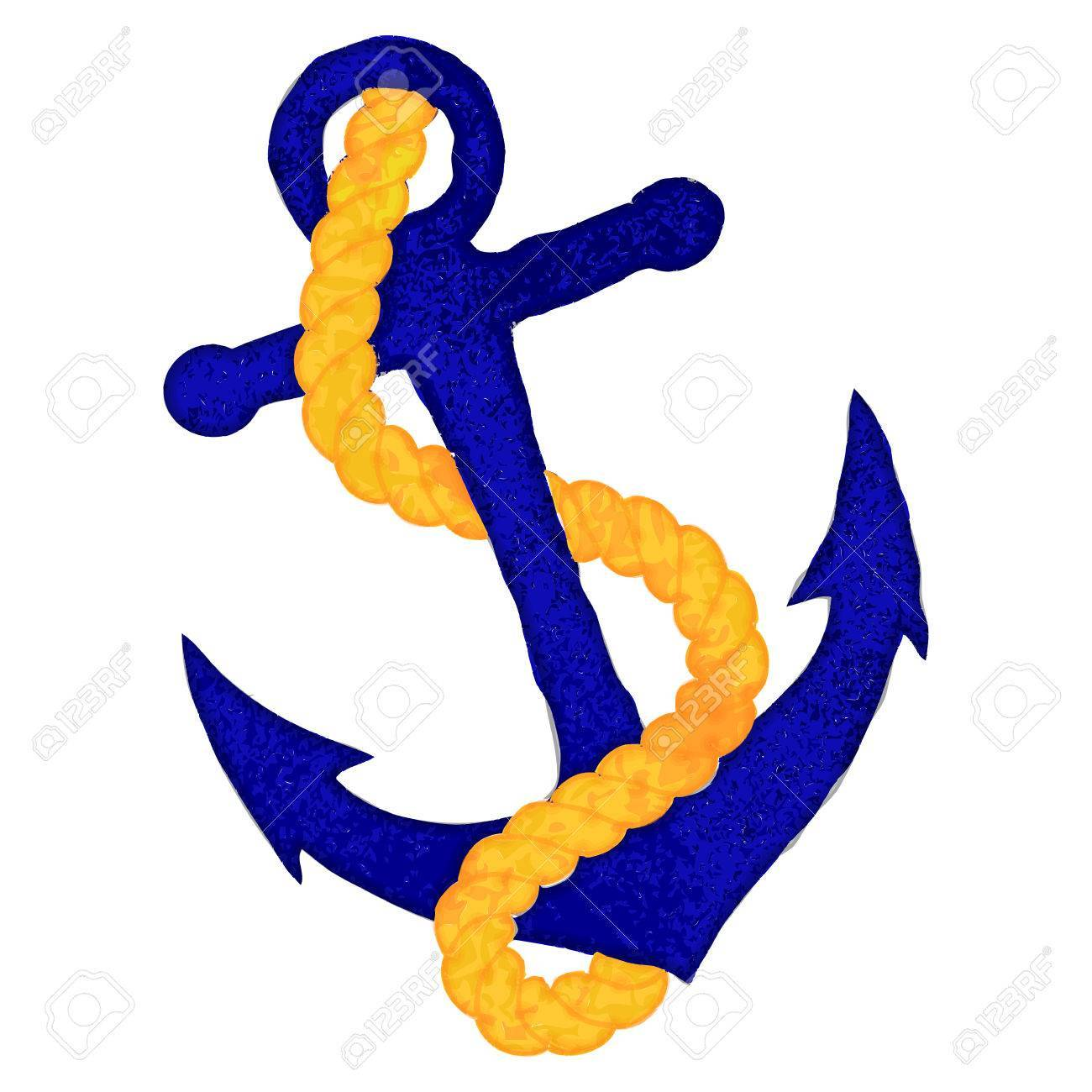Anchor with rope clipart clip freeuse library Anchor and rope clipart 7 » Clipart Portal clip freeuse library