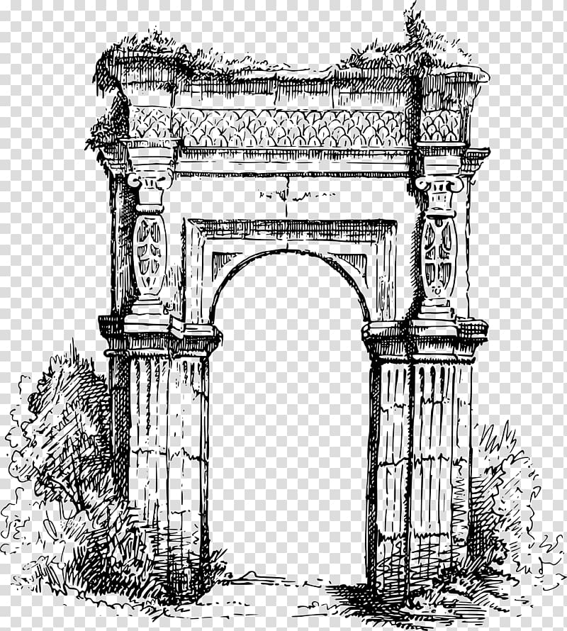 Ancient archway clipart clipart free stock Arch Drawing , stone arch transparent background PNG clipart | HiClipart clipart free stock
