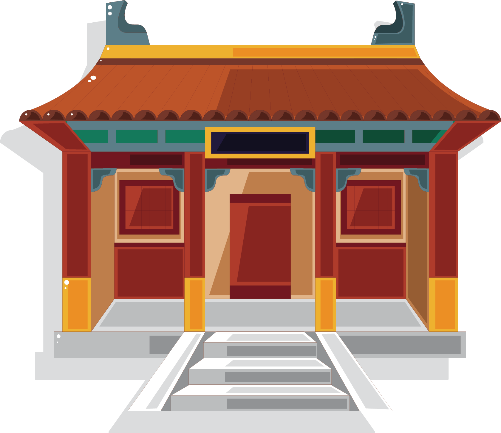 Ancient chinese temple clipart graphic freeuse library Chinese temple clipart clipart images gallery for free download ... graphic freeuse library