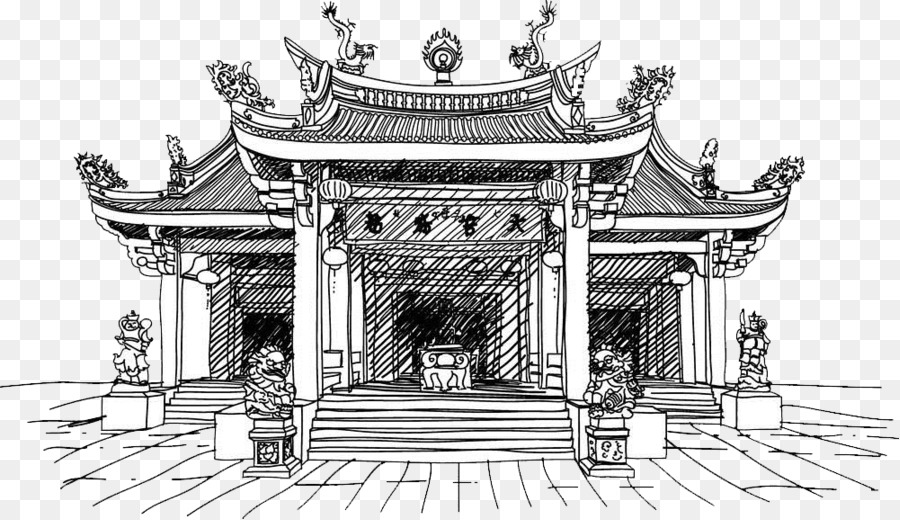Ancient chinese temple clipart svg royalty free stock China Background png download - 1000*577 - Free Transparent China ... svg royalty free stock