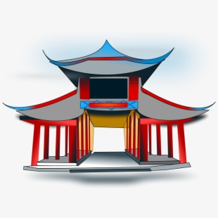 Ancient chinese temple clipart vector royalty free stock Image Of Ancient China - Cartoon Chinese Temple #951764 - Free ... vector royalty free stock