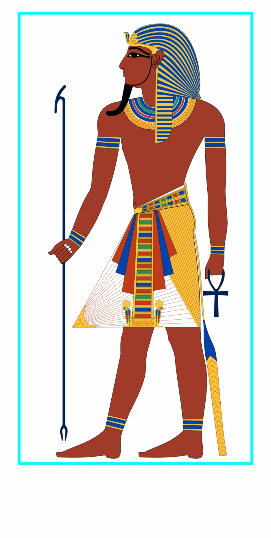 Ancient clothing clipart clipart royalty free download Fashion Clipart Style - Ancient Egypt Clothing Men, Transparent Png ... clipart royalty free download