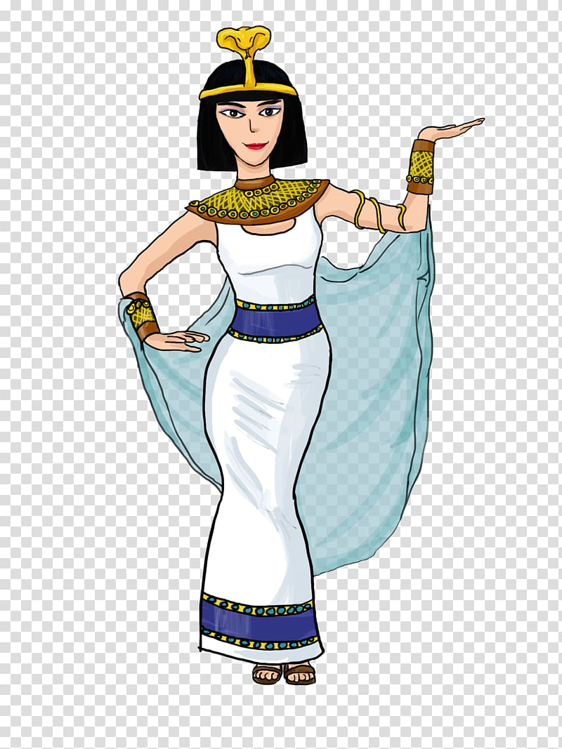 Ancient clothing clipart svg royalty free library Ancient Egypt Pharaoh , Cleopatra transparent background PNG clipart ... svg royalty free library