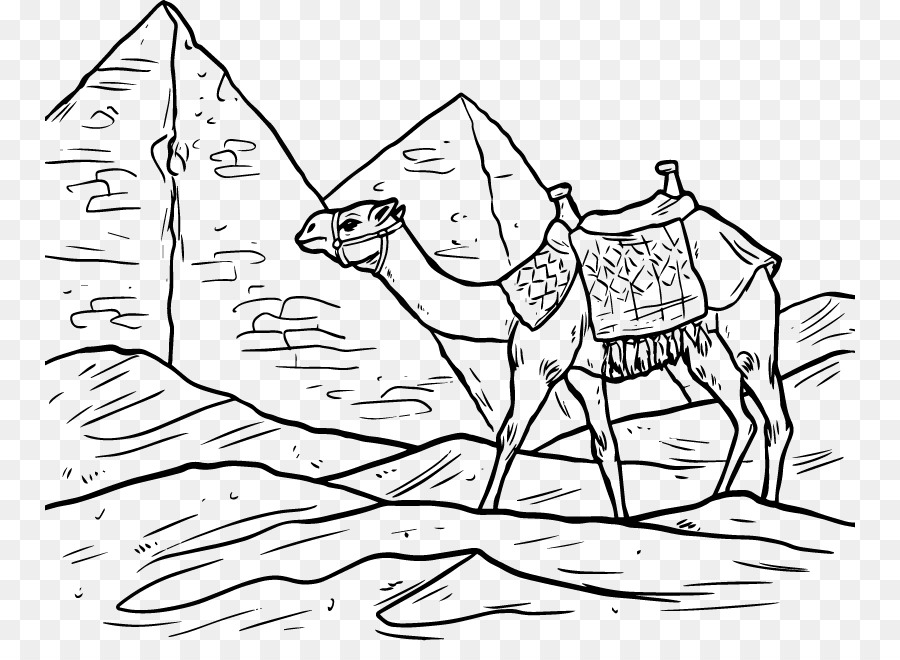 Ancient egypt clipart black and white clip art black and white library Egyptian Pyramids Shoe png download - 810*641 - Free Transparent ... clip art black and white library