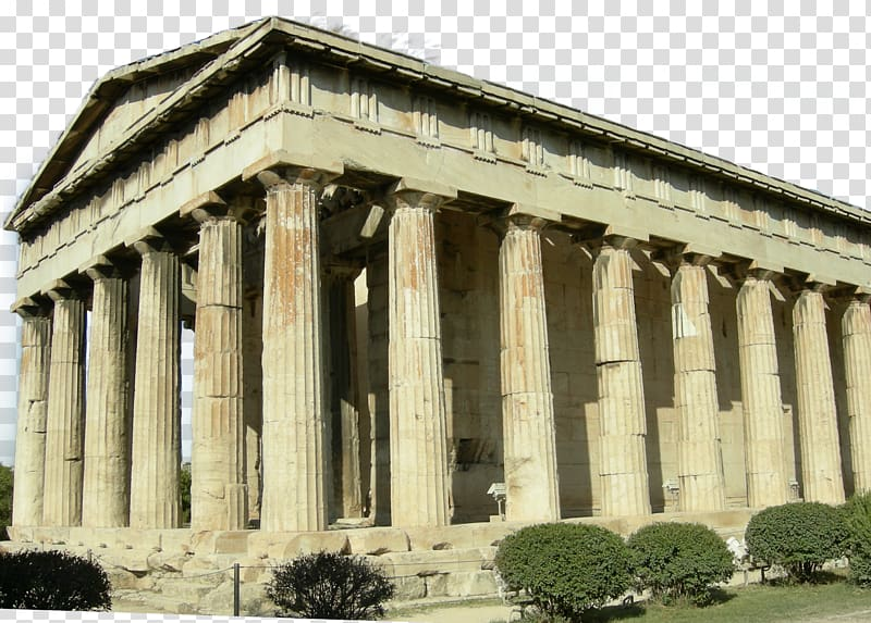 Ancient greece agora clipart banner library library Parthenon Temple of Olympian Zeus, Athens Temple of Hephaestus ... banner library library