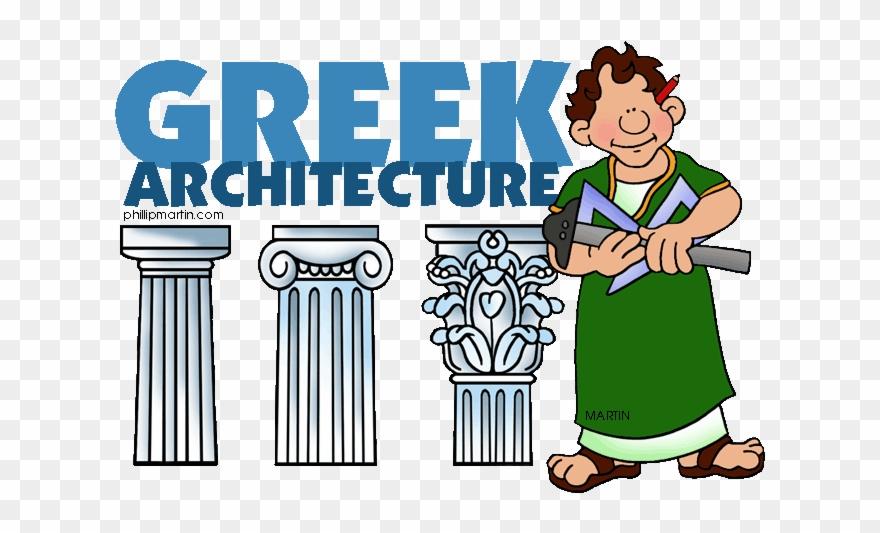 Ancient greek architecture clipart clip library library Greek Clip Art - Ancient Greek Architecture Cartoon - Png Download ... clip library library