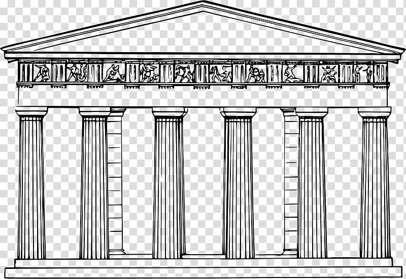 Ancient greek architecture clipart png free Temple of Hephaestus Ancient Greece Ancient Greek architecture ... png free