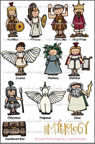 Greek mythology gods clipart - ClipartFest clipart