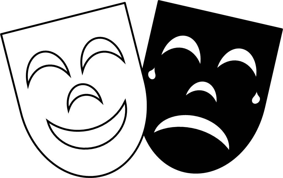 Free clipart comedy tragedy masks. Ancient greek images download