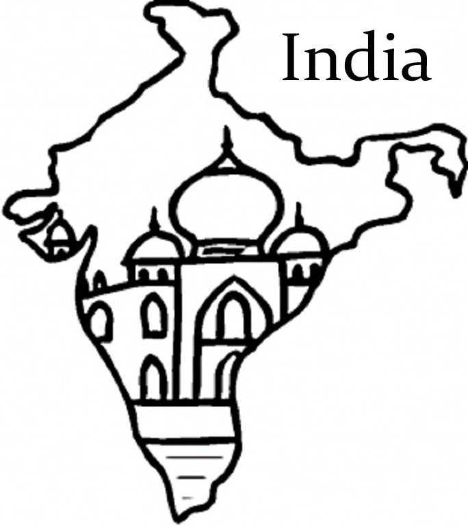 Ancient india map clipart jpg royalty free Collection of India clipart | Free download best India clipart on ... jpg royalty free