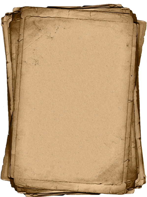 Library of ancient paper stack jpg black and white png ...