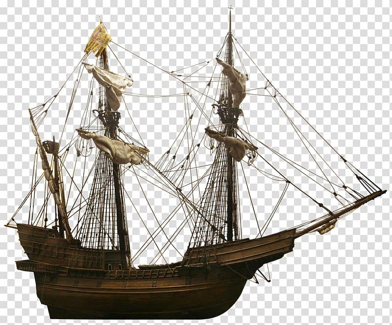 Ancient roman sailing clipart jpg transparent download Brown schooner illustration, Galleon Sailing ship Carrack, Ancient ... jpg transparent download