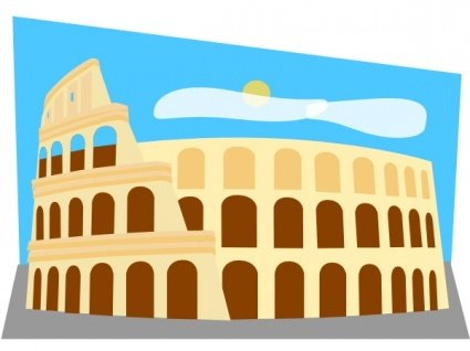 Ancient rome colosseum clipart clipart library Free Roman Colosseum Clipart and Vector Graphics - Clipart.me clipart library