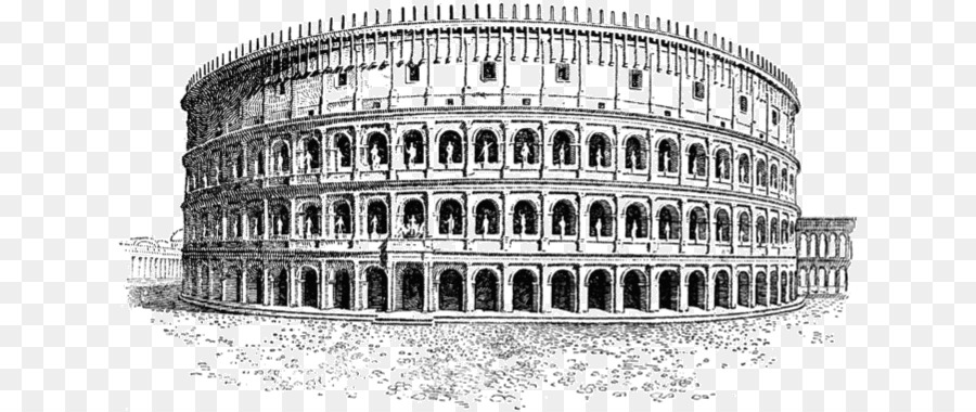 Ancient rome colosseum clipart svg black and white download Building Cartoon png download - 682*380 - Free Transparent Colosseum ... svg black and white download
