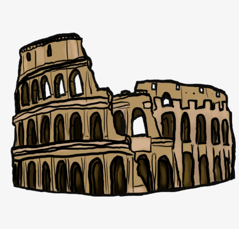 Ancient rome colosseum clipart jpg freeuse stock Free Png Colosseum Png Images Transparent - Ancient Roman ... jpg freeuse stock