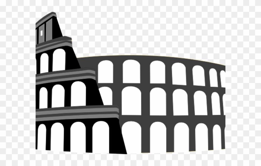 Ancient rome colosseum clipart clip art freeuse Colosseum Clipart Ancient Rome - Png Download (#2888077) - PinClipart clip art freeuse