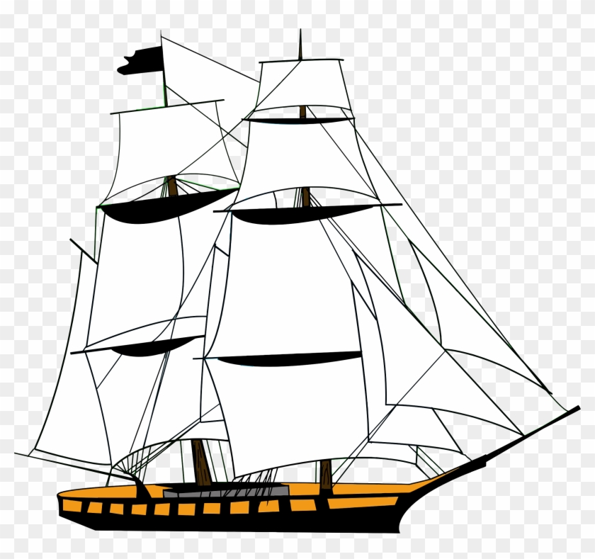 Ancient ship clipart vector royalty free download Sailing Ship White Big Image Png - Transparent Background Ship ... vector royalty free download