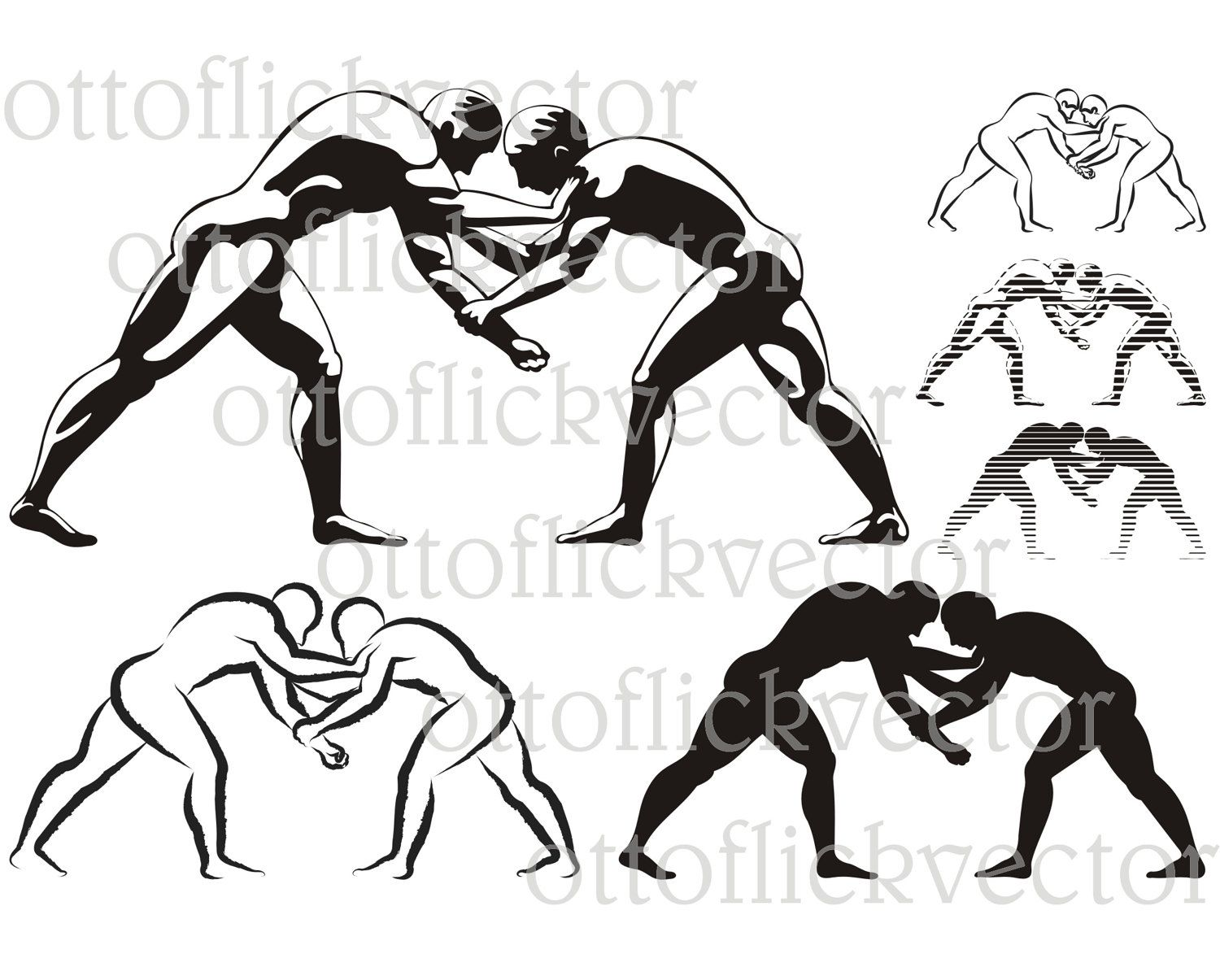 Ancient wrestler clipart banner freeuse Pin od Iwona Myszkowska na CLIPART - my vector drawings banner freeuse