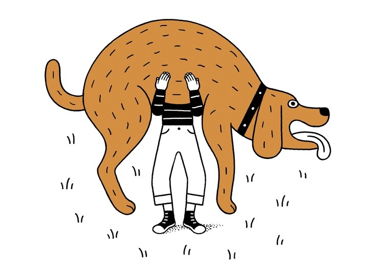 And they call it puppy love clipart jpg freeuse stock O.K., You Can Get a Dog   The New Yorker jpg freeuse stock