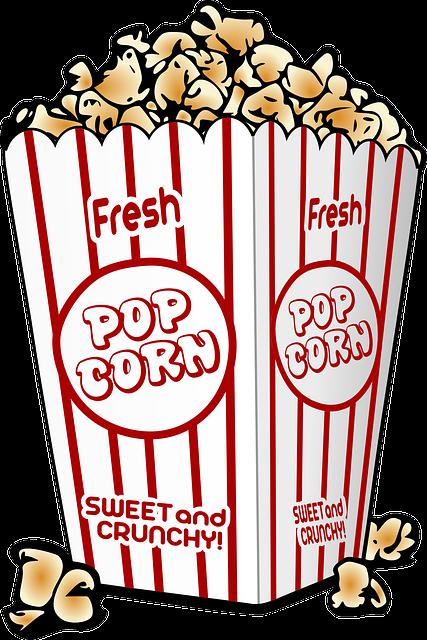 Andare al cinema clipart jpg library download Free Clip Art, Immagini & Disegni.: Icona Popcorn. jpg library download