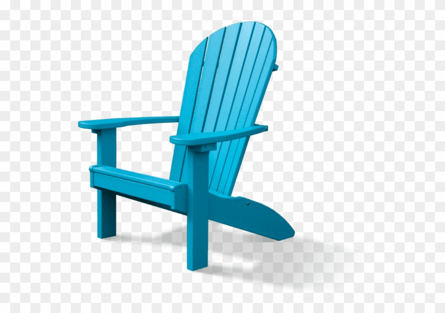 Andirondeck chair clipart transparent png library download Ez Poly Adirondack Chair - Adirondack Chair Clipart (#3645721 ... png library download