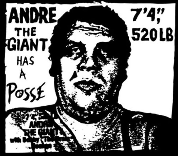 Andrea the giant black and white clipart image royalty free Andre the Giant Has a Posse - Alchetron, the free social encyclopedia image royalty free