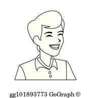 Androgenous clipart vector transparent stock Androgynous Clip Art - Royalty Free - GoGraph vector transparent stock