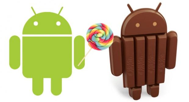 Android lollipop clipart png download Android Lollipop vs Android KitKat.. What\'s the difference? png download