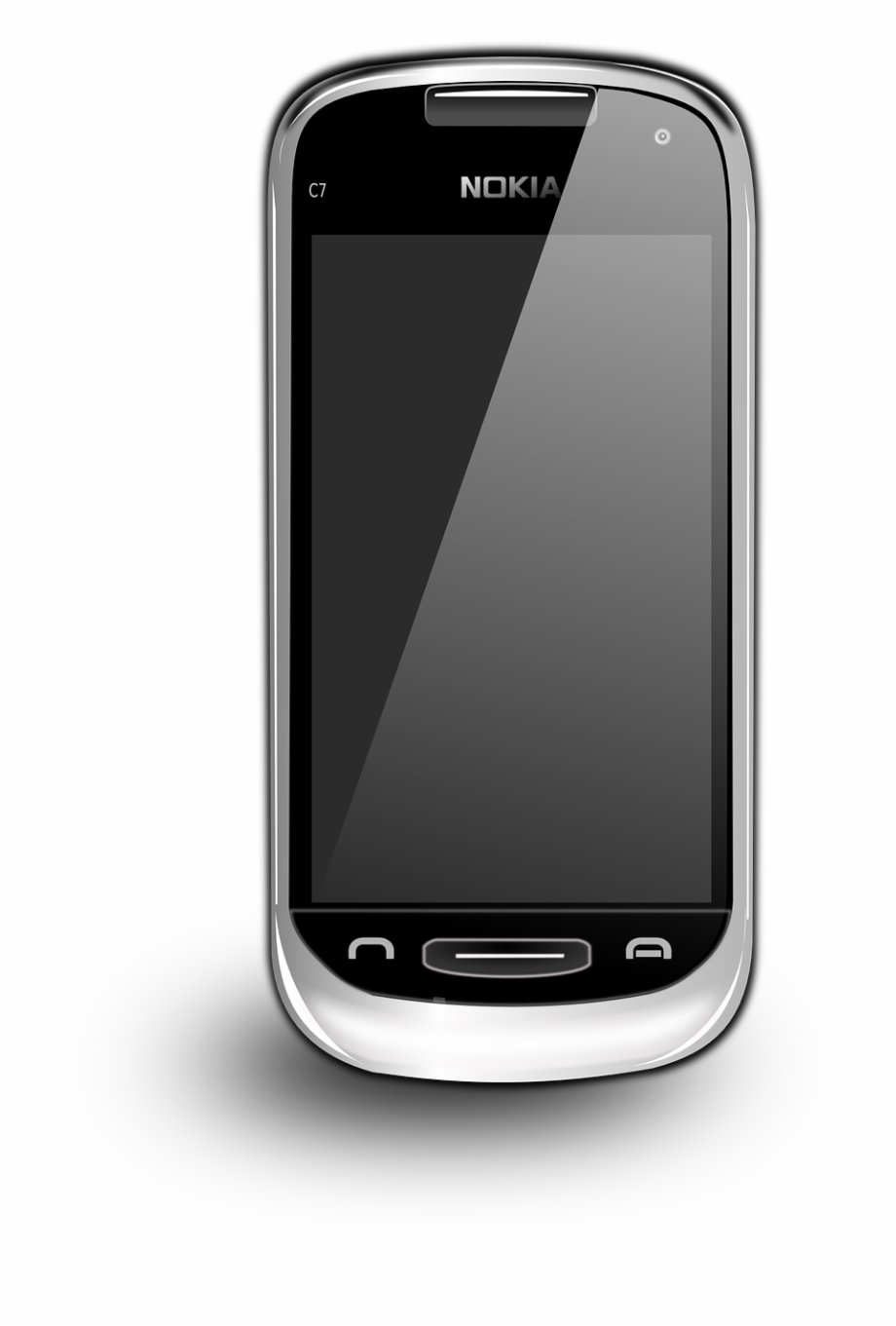 Android mobile clipart download banner free stock Nokia C Phone Icon Android Art 555px - Nokia Mobile Clipart ... banner free stock