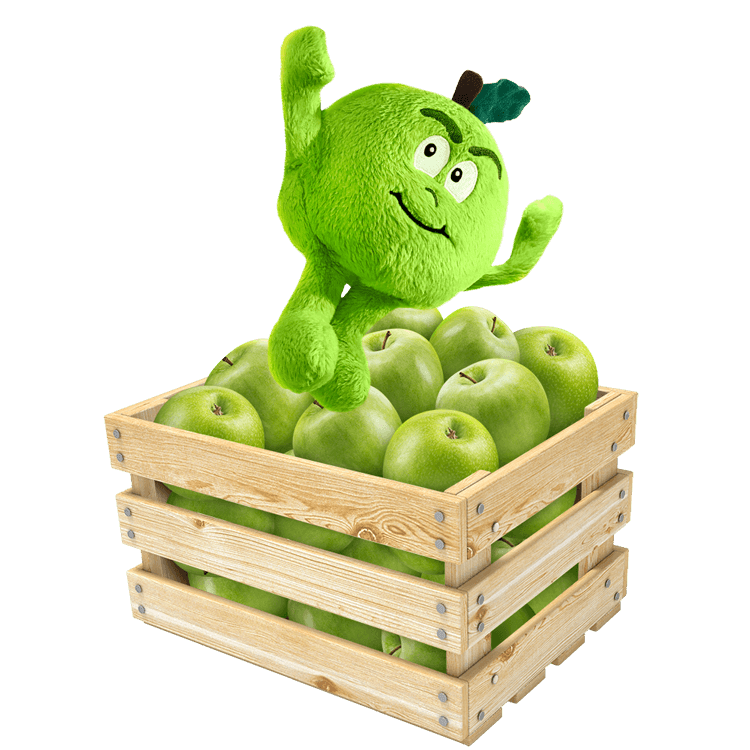 Andy apple clipart image download The Goodness Gang - Giant image download