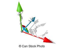 Angebot und nachfrage clipart. Three axis and stock