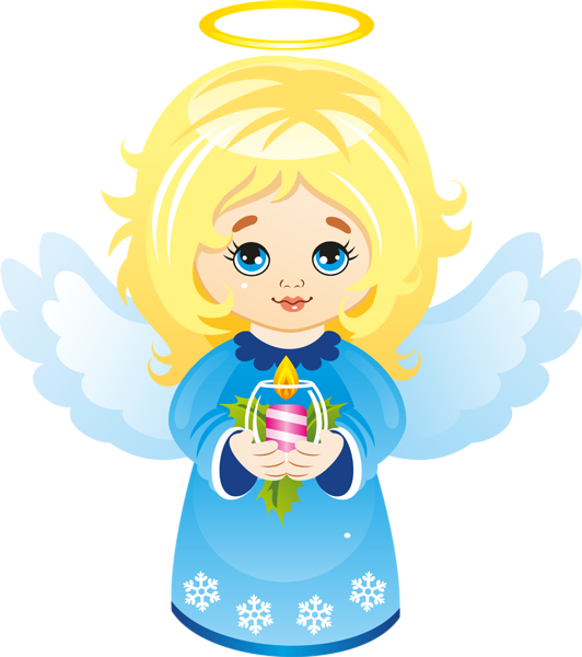 Angel cartoon christmas clipart vector stock Cute Christmas Angel with Candle Clipart   Imagenes Angelitos ... vector stock
