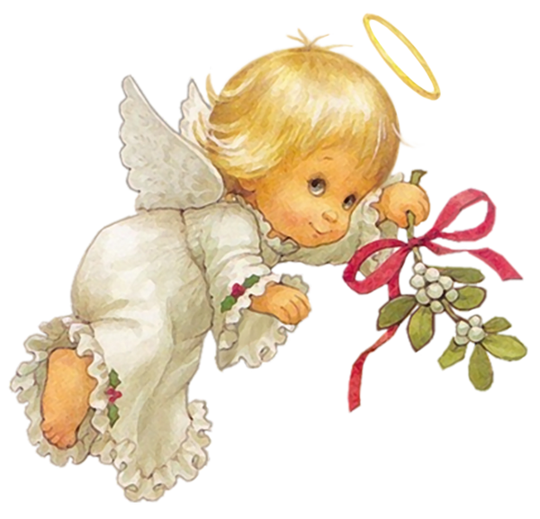 Angel clipart christmas png library download Cute Christmas Angel Free PNG Clipart Picture | Angel clip ... png library download