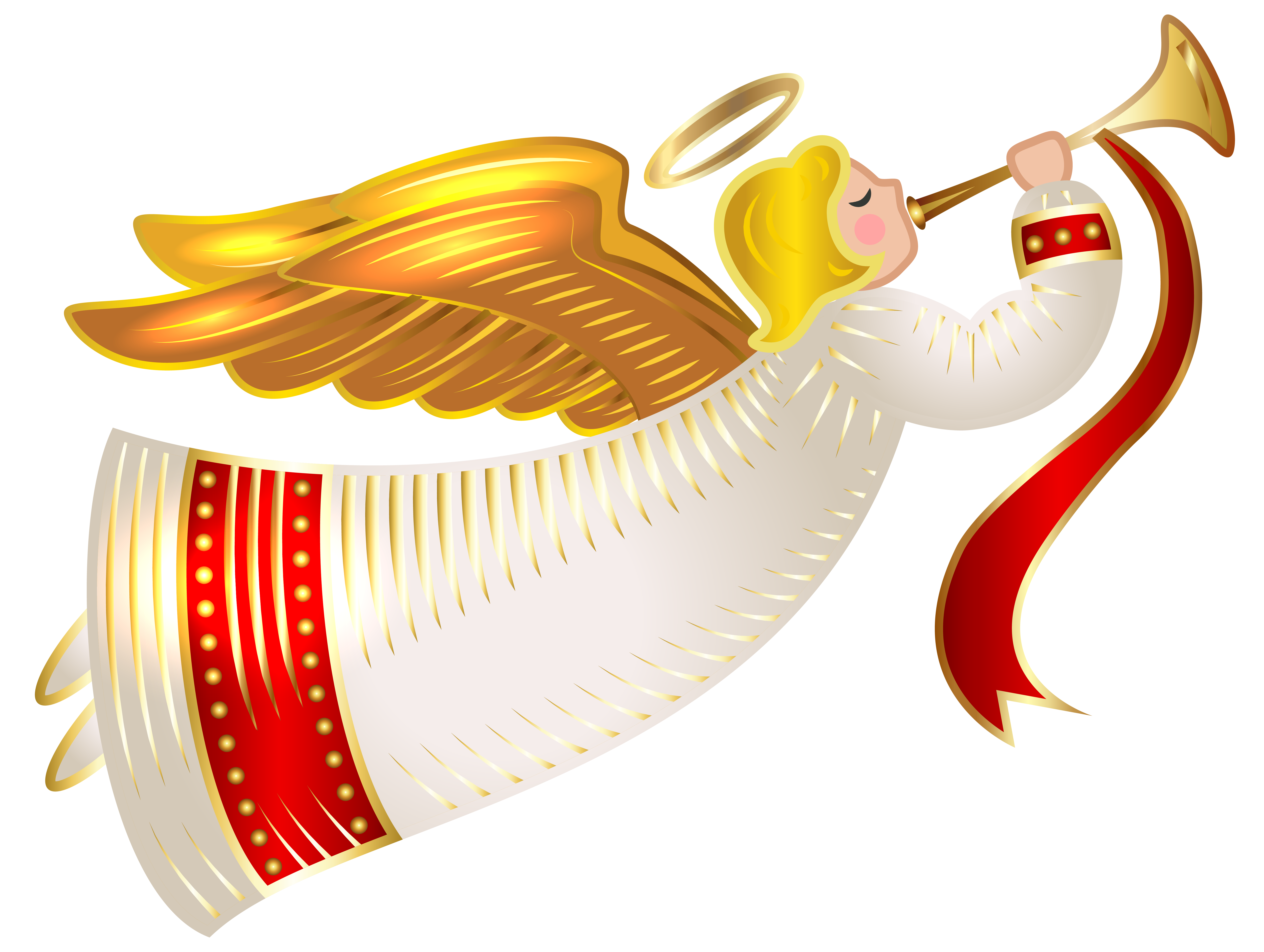 Angel clipart christmas banner free library Christmas Angel Transparent PNG Clip Art Image | Angelology ... banner free library