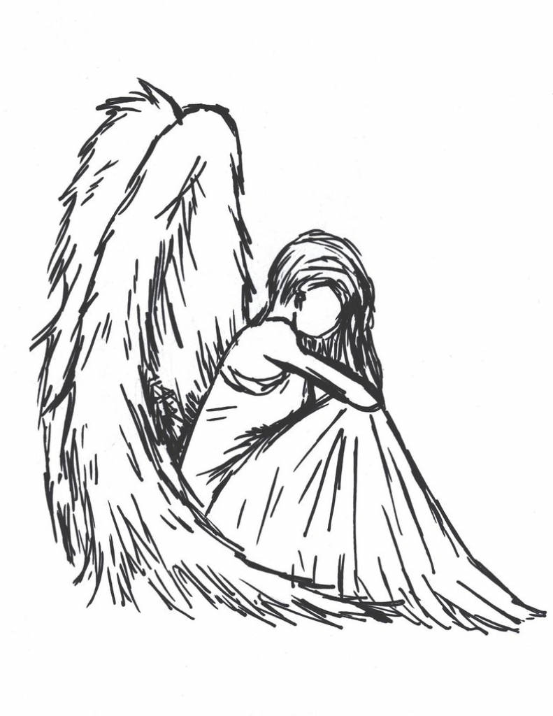 Angel clipart drawing jpg royalty free download Christmas Angel Clipart Drawing An Online - Clipart1001 - Free Cliparts jpg royalty free download