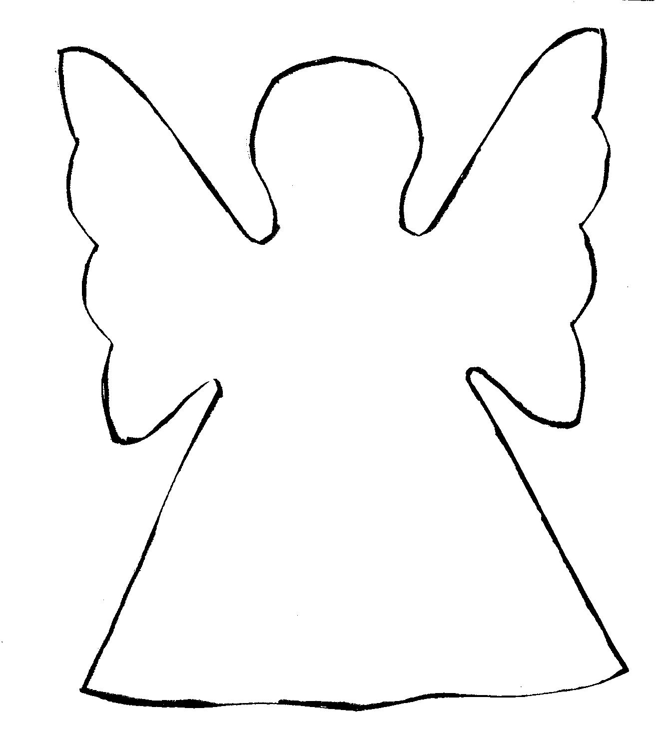 Angel clipart drawing svg library Free Angel Outline Drawing, Download Free Clip Art, Free Clip Art on ... svg library