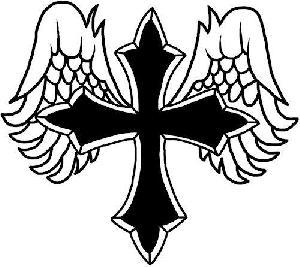 Angel cross clipart jpg transparent Christian Cross With Angel | Clipart Panda - Free Clipart Images jpg transparent