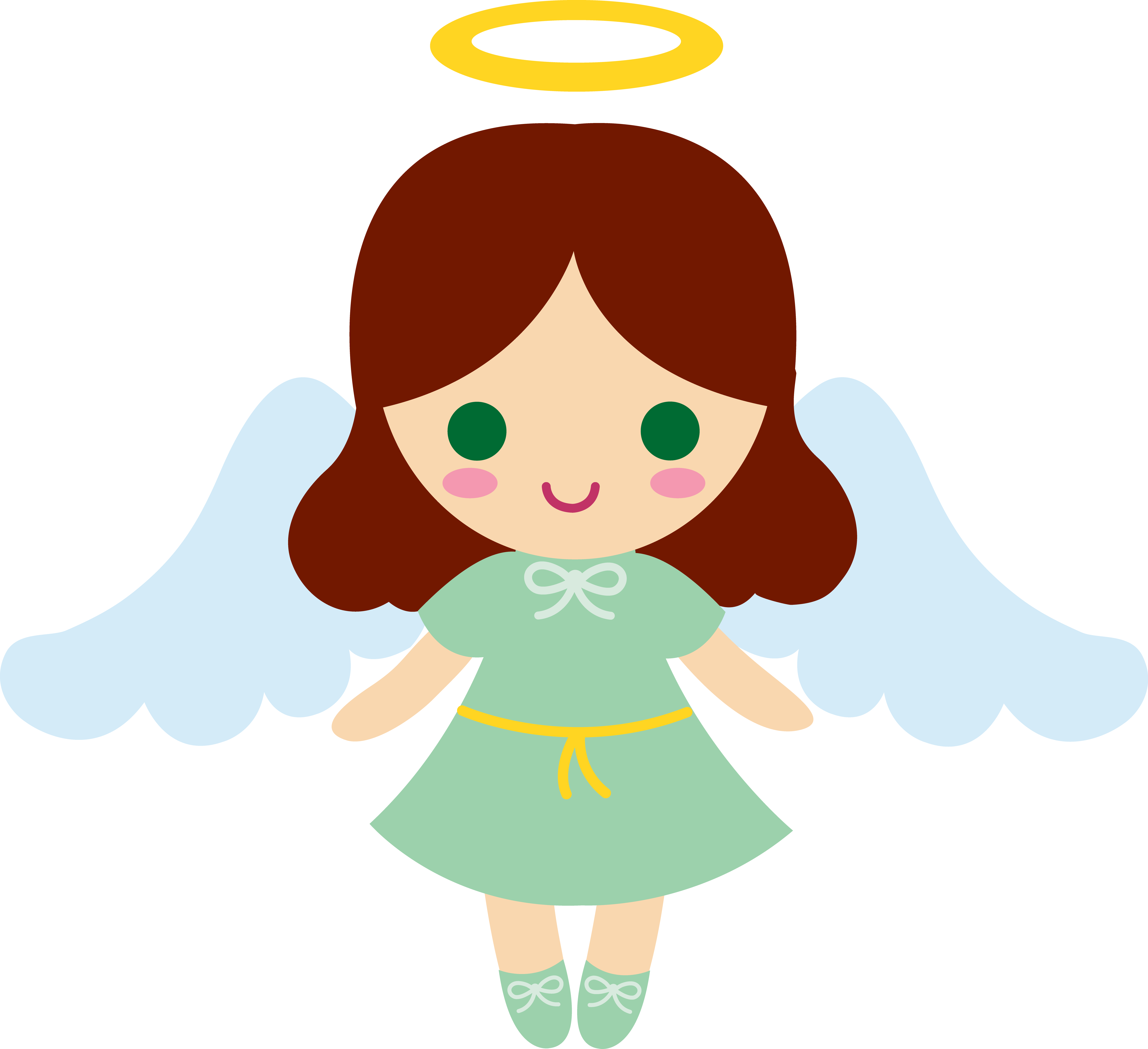 Half of my heart is in heaven with my angel clipart svg freeuse stock Cartoon Angel Clipart at GetDrawings.com | Free for personal use ... svg freeuse stock
