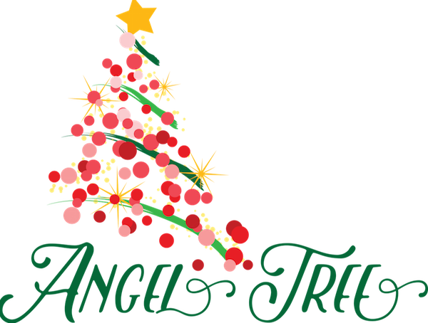 Angel gift tree clipart image transparent library St. Raymond Catholic Church in Dublin – The Angel Trees are up image transparent library